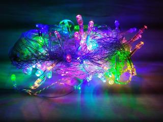 Pisca Pisca 100 Led Decoração De Natal 9 Mts 110v Colorido