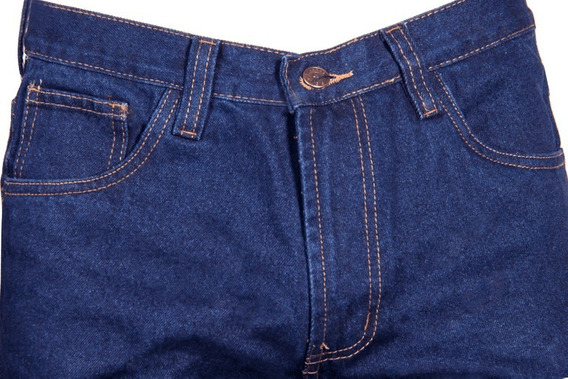 Pantalones Jeans Damas Caballeros Industrial Triple Costura