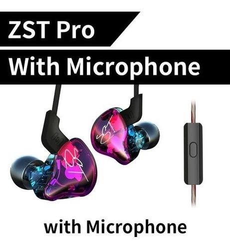 Audífonos In-ear Kz Zst Pro Monitores Dual Driver Originales