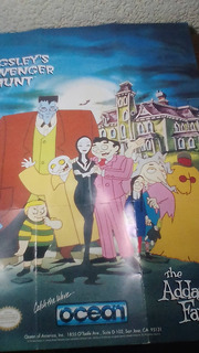 The Adams Family Snes Poster