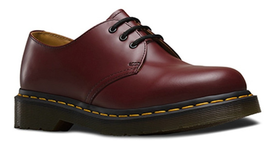 Zapato Unisex 1461 Cherry Red Smooth Vino Dr. Martens