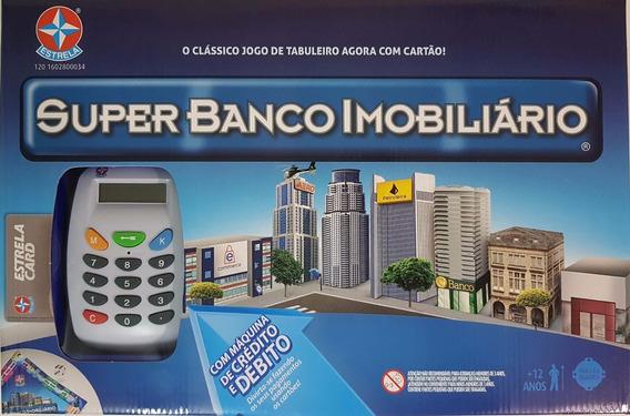 Jogo Super Banco Imobiliário Original Estrela Com Maquininha