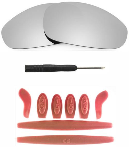 Combo Lente Titanium + Kit Borrachas Red P/juliet Promoção