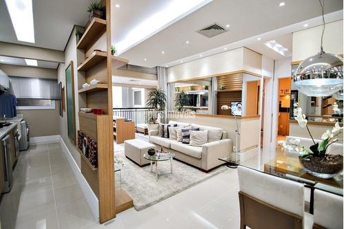 Próximo Ao Shoppings Morumbi Town E Jardim Sul 96.83m²  3 Dorms, Suíte, 2 Gar  - Lazer De Clube - Pp17593