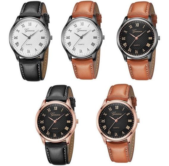 10 Relógios Feminino Super Luxo Geneva Para Revender Barato