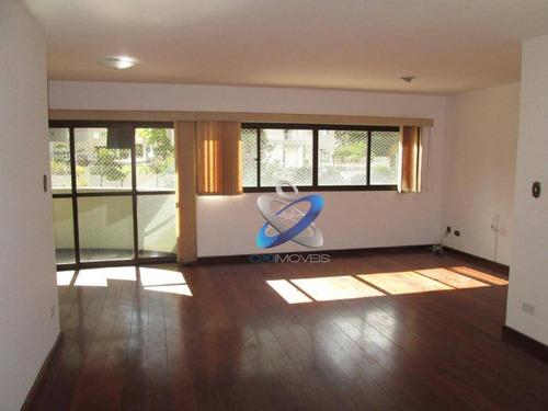 Apartamento Com 3 Dormitórios À Venda, 120 M² - Jardim Apolo - São José Dos Campos/sp - Ap2496