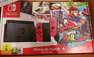 Nintendo Switch Mario Odyssey Edition Limited Edicion Mario