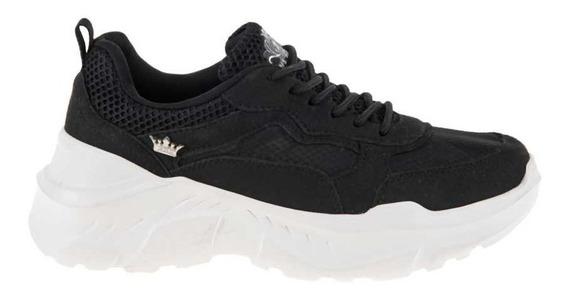 Tenis Paris Hilton Chunky Sneakers Negro Para Mujer