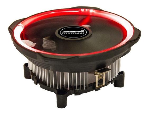 Cooler Universal Intel Amd Fan 120mm Led Red Tdp 95w K729x