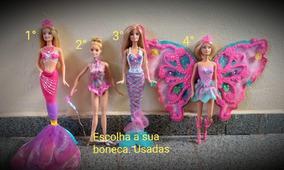 Coleção De Barbies Lindas E Semi Novas Escolha Sua Promoção