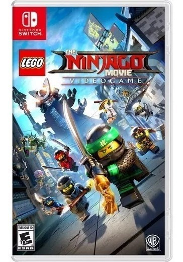 Jogo Lego Ninjago Movie Nintendo Switch Midia Fisica
