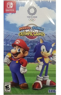 Mario & Sonic The Olympic Games Tokyo 2020 Nintendo Switch