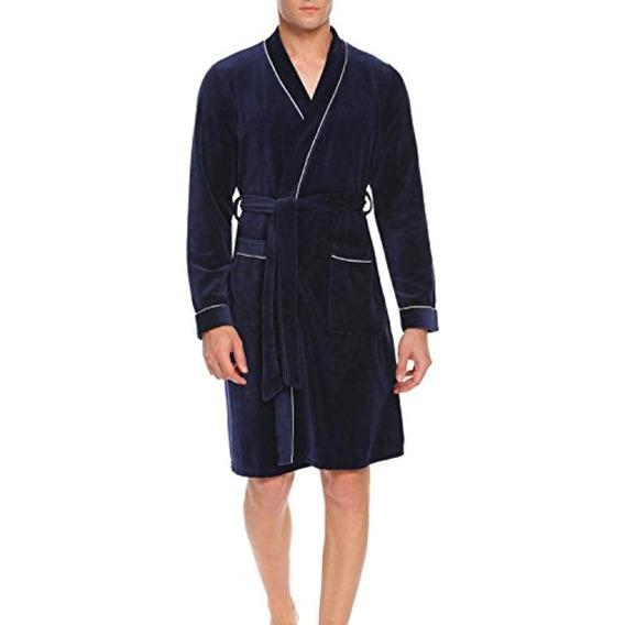 Peatao Mens Kimono Spa Albornoz, Ropa De