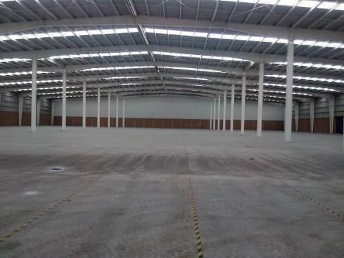 Texcoco, Parque Industrial Nave De 2400 A 4800m2 En Renta