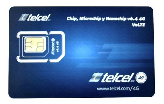 Chip Express Telcel Sim 4g Lte V6.4 Reynosa Lada 899