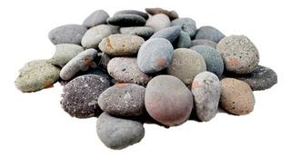 Piedra De Río 2.5kg, Jardín Zen, Masajes, Macetas Y Jardín