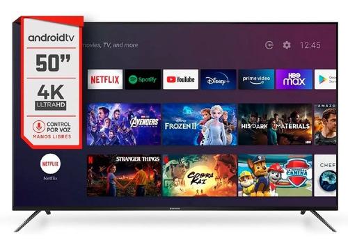 Imagen 1 de 3 de Televisor Smart Hitachi 50  4k Ultra Hd Android Le504k
