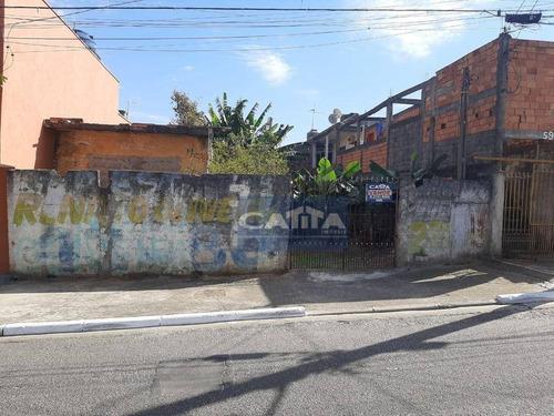 Imagem 1 de 12 de Terreno À Venda, 270 M² Por R$ 200.000 - Itaim Paulista - São Paulo/sp - Te1791