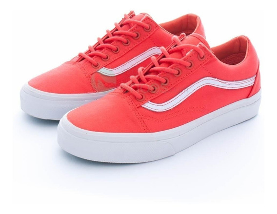 Zapatillas Vans Old Skool Hot Coral White