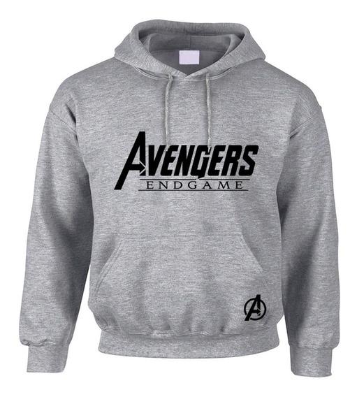 Sudadera Hoodie Avengers Endgame Gris Precio Especial!!
