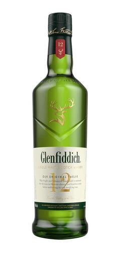 Imagen 1 de 1 de Botella Whisky Glenfiddich 12 Años 750ml