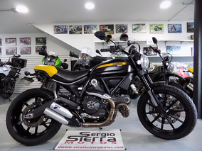 Ducati Scrambler Full Throttle Negra 2015