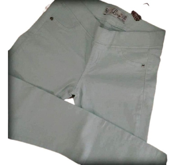 Calza Legging De Gabardina