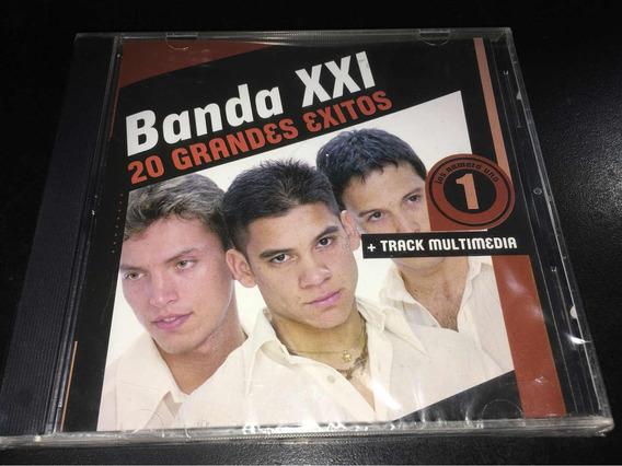 Banda Xxi - 20 Grandes Exitos Cd Nuevo Cerrado