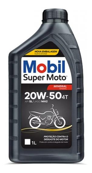 Óleo Mobil 4t 20w50 1 Litro
