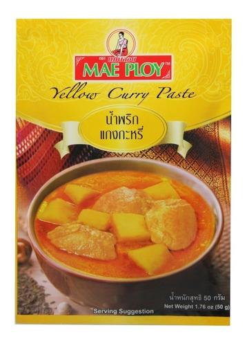 Pasta De Curry Amarillo Tailandes 50g