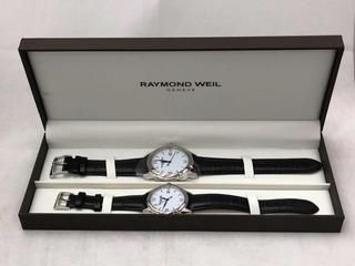 Raymond Weil Juego Relojes Hombre Dama Números Romanos P&h