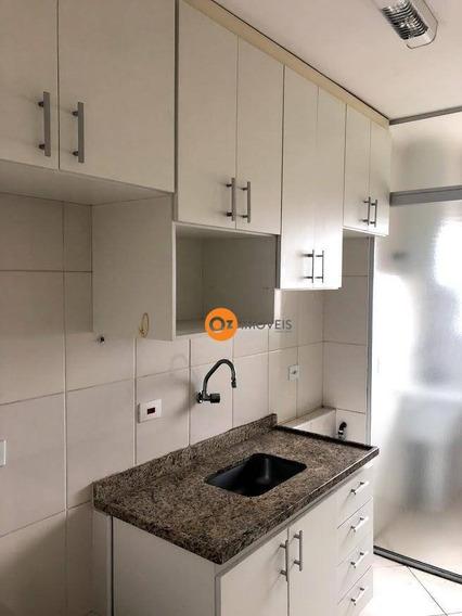 Apartamento Com 2 Dormitórios Para Alugar, 62 M² Por R$ 1.450/mês - Vila Yara - Osasco/sp - Ap0079
