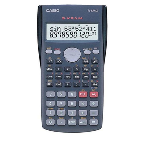 Calculadora Eletrônica Científica 240 Funções 10+2 Dígitos