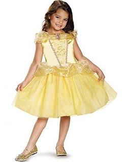 Disfraz Clasico De Bella, Princesas De Disney, De La Pelicul