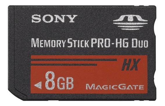 Memoria Memory Stick Pro Duo 8gb Sony - Original