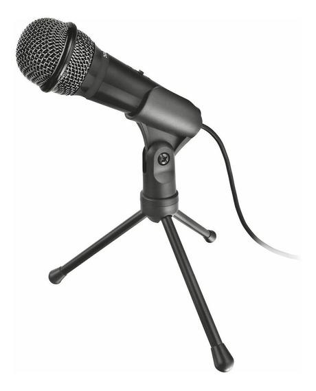 Microfone Trust 21993 omnidirecional preto
