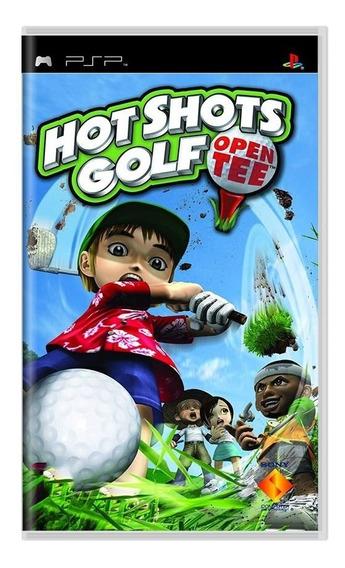 Jogo Original E Lacrado Em Umd Hot Shots Golf Para Psp