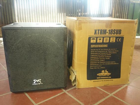 Bajos 18 Pulgadas Modelo Xtrm-18 Soundbarrier Originales