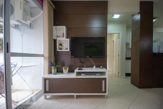Apartamento No 6º Andar Mobiliado Com 2 Dormitórios E 1 Garagem - Id: 892972185 - 272185