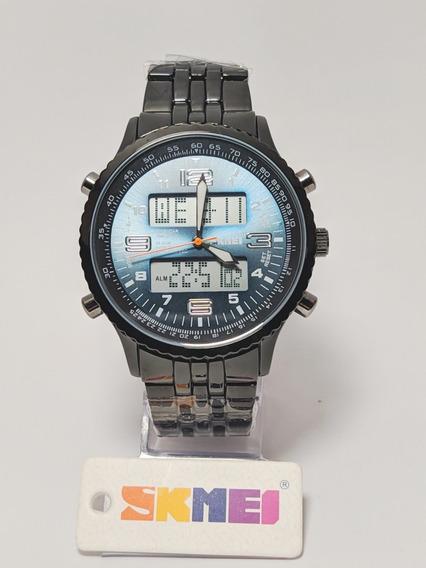 Relógio Skmei Masculino 1032 Dupla Exibição Pronta Entrega