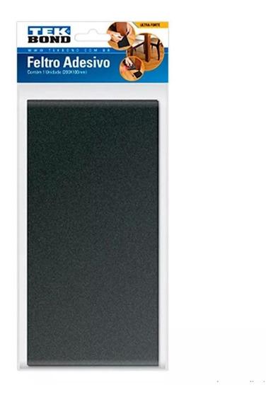 Feltro Retangular Adesivo 200x100mm 23901020000 Tekbond