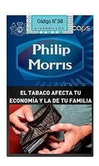 Philips Morris Caps Box 10 Cigarrill X 10 Unidad Microcentro