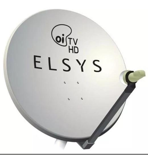 5 Antena Oi Tv 60 Cm Sem Cabos