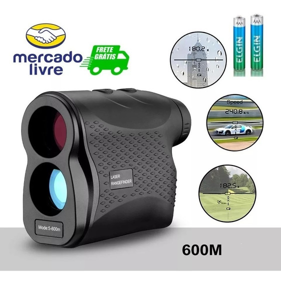 Binóculo Caça Medidor Distância Velocidade Rangefinder Visão