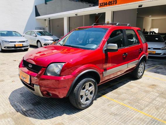 Ecosport 2007 1.6 Xlt Flex Vermelho (0746)