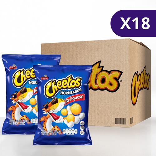 Cheetos® Boliqueso Horneados - Caja 18 Unidades De 110g