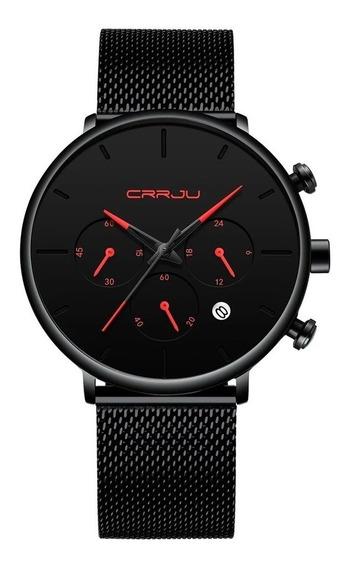 Relógio Masculino Minimalista Prova D