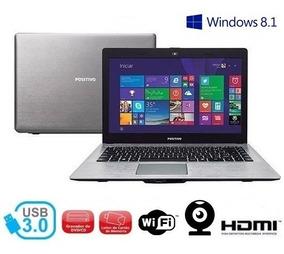 Notebook Celeron N30i 2gb Hd-500gb Dvd-rw Positivo+frete