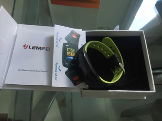 Bracelete Smart Lemfo Lt02