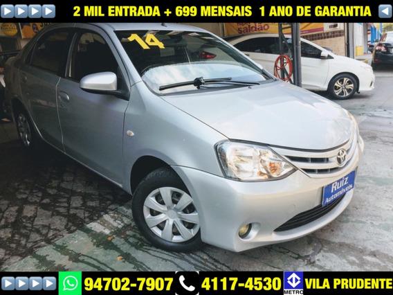 Toyota Etios 1.5 16v Xs 4p
